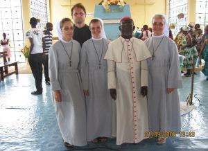 Mgr Basile au sanctuaire