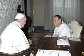 rencontre entre frère Alois et le pape François