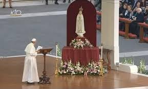 le Pape et fatima