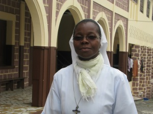 Mère Claire Liliane, Nouvelle Superieure des Soeurs de Sainte Marie du Gabon
